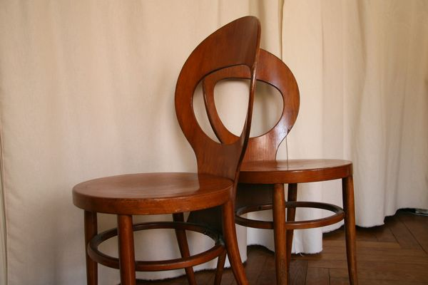 Lot de chaises Baumann
